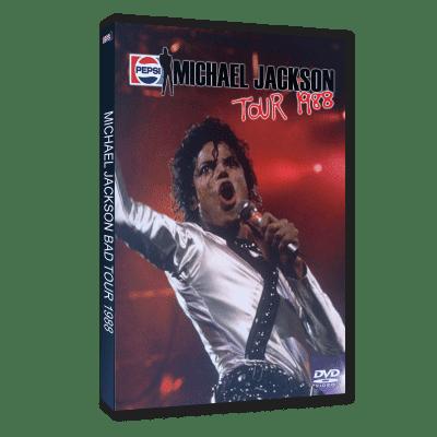 Michael Jackson Bad Tour 1988 dvd