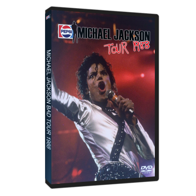 Michael Jackson Bad Tour 1988 dvd