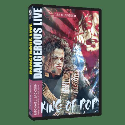 Michael Jackson Dangerous Live dvd