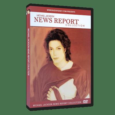 Michael Jackson News Report dvd