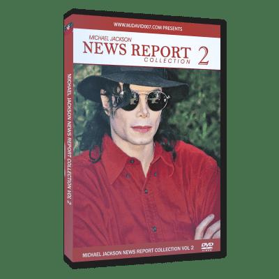 Michael Jackson News Report 2 dvd