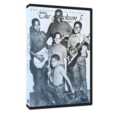 The Jackson 5 TV Moments 5 dvds set