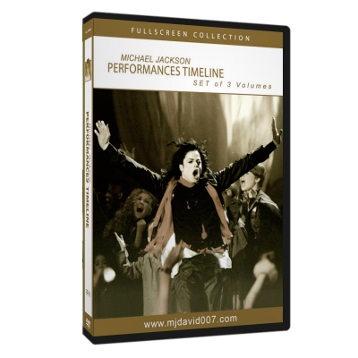 Michael Jackson's Timeline Performance DVD set cover