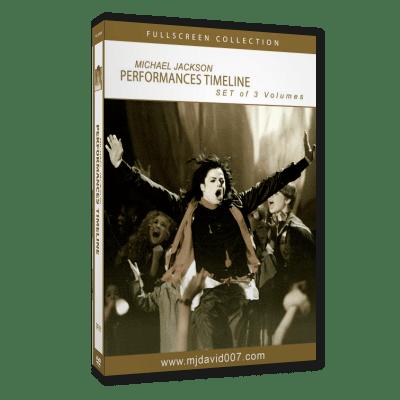 Michael Jackson's Timeline Performance DVD set cover