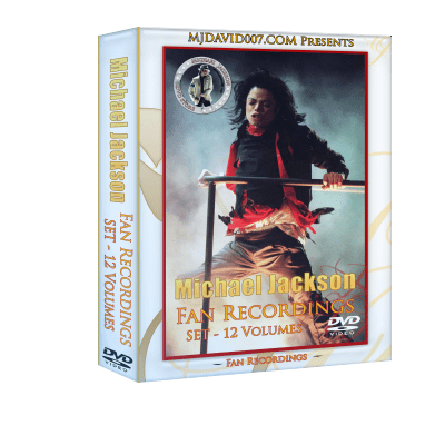 Michael Jackson Fans Recordings dvd Box set