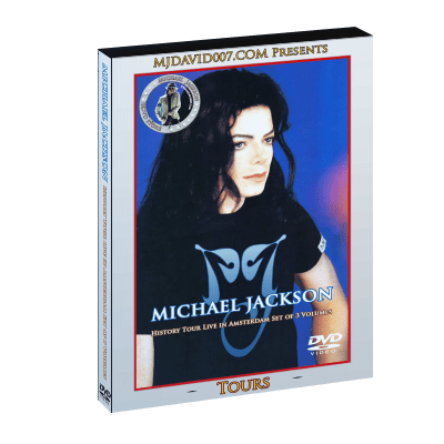 Michael Jackson HIStory Tour in Amsterdam dvd