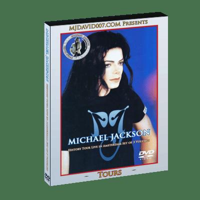 Michael Jackson HIStory Tour in Amsterdam dvd
