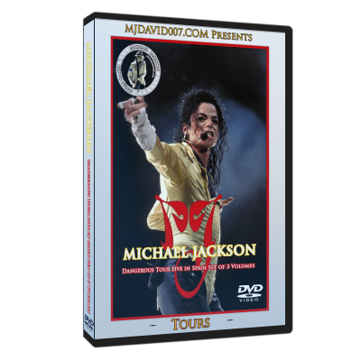 Michael Jackson Dangerous Tour in Spain dvd