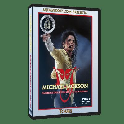 Michael Jackson Dangerous Tour in Spain dvd