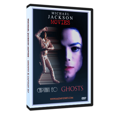 Michael Jackson Ghosts & Captain Eo dvd cover